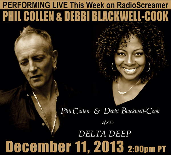 Phil Collen and Debbie Blackwell-Cook Live in Studio 12/11/13